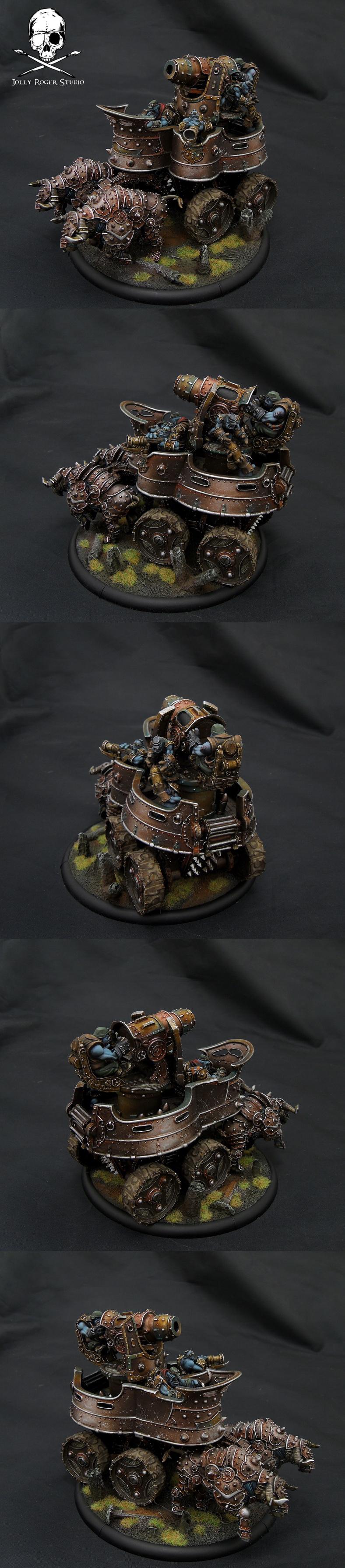 Trollbloods War Wagon