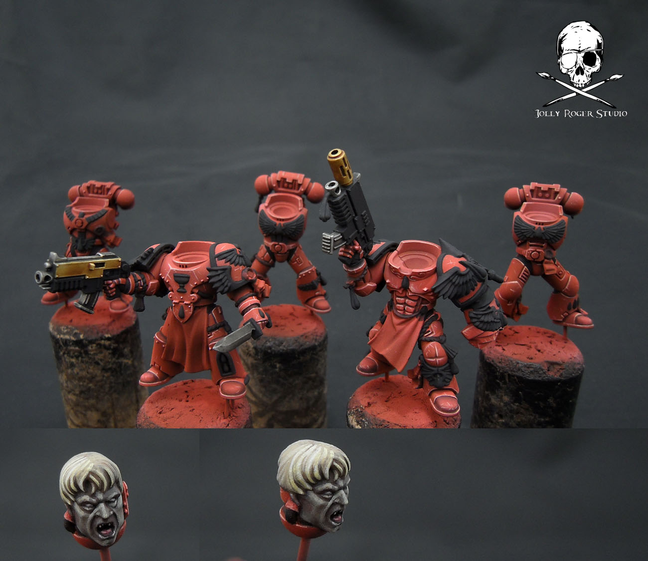 Blood Angels: Tactical Squad WiPs