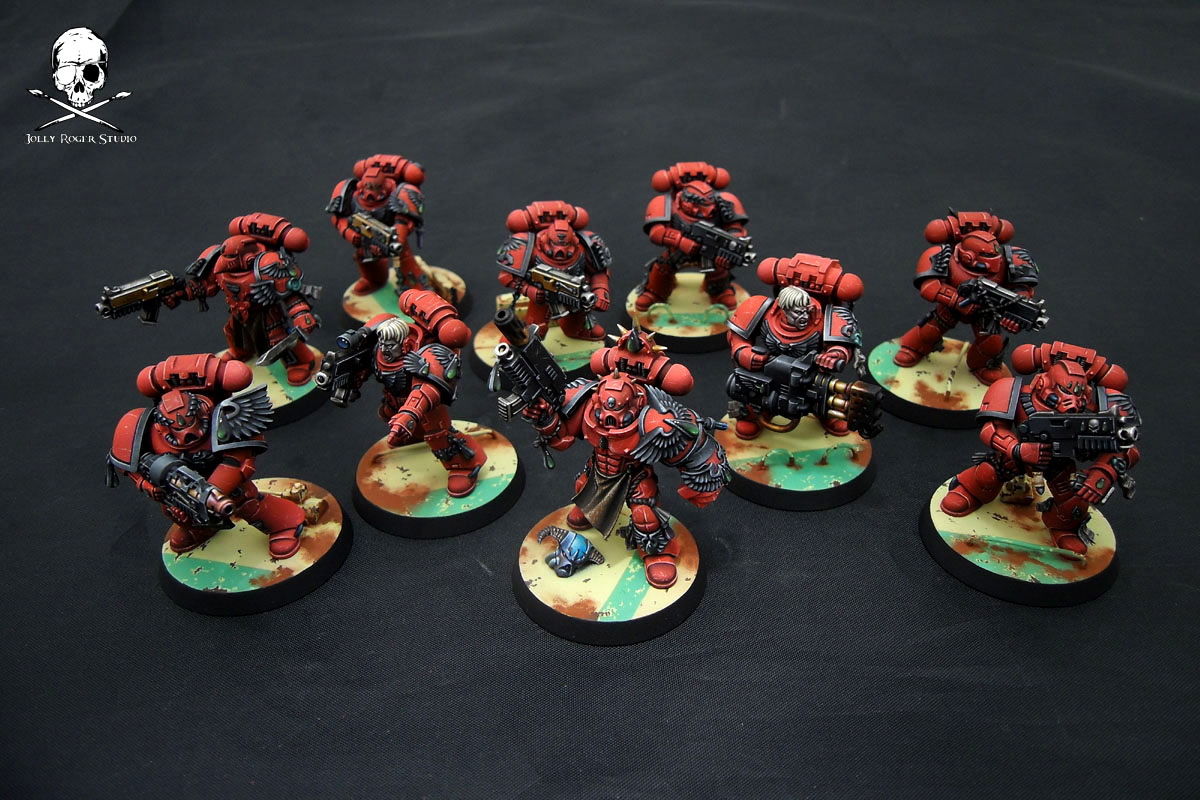 Blood Angels Tactical Squad: Finished!