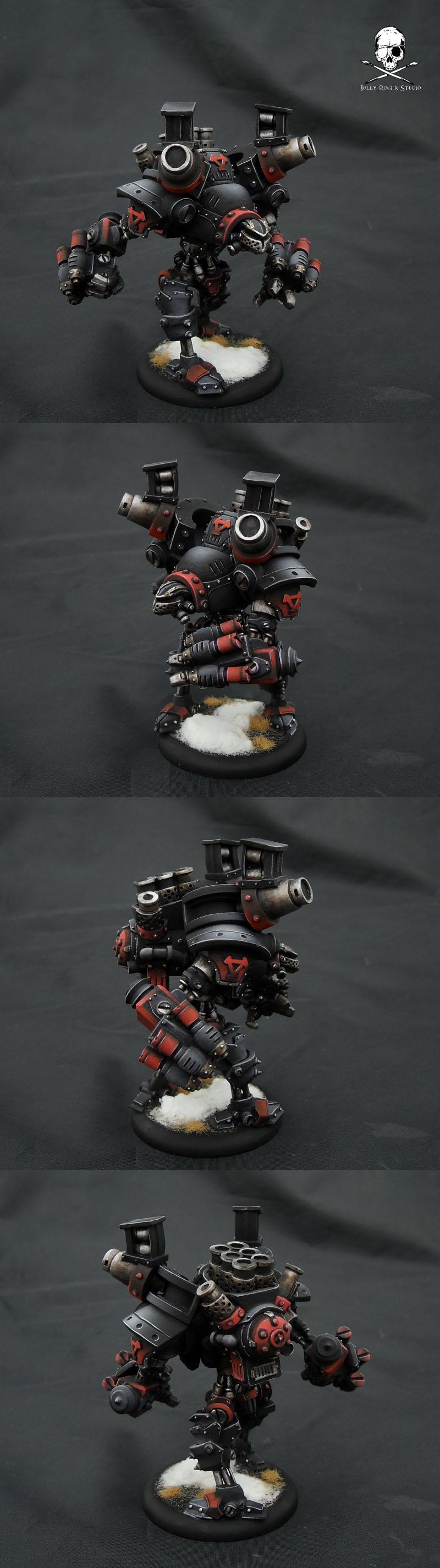 Black Khador: DONE!