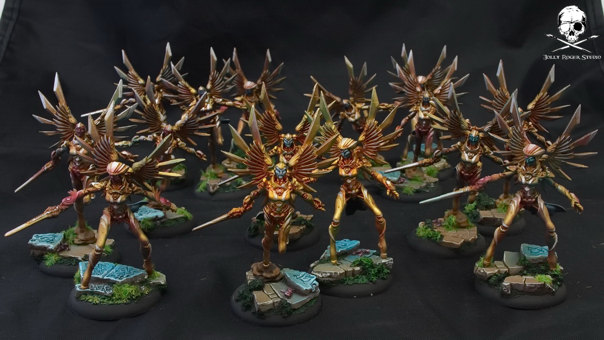 Convergence of Cyriss Golden Army