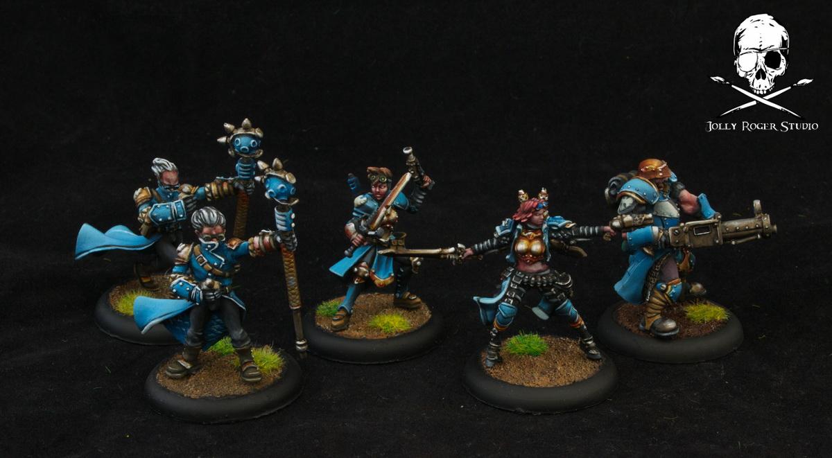 Blue Cygnar