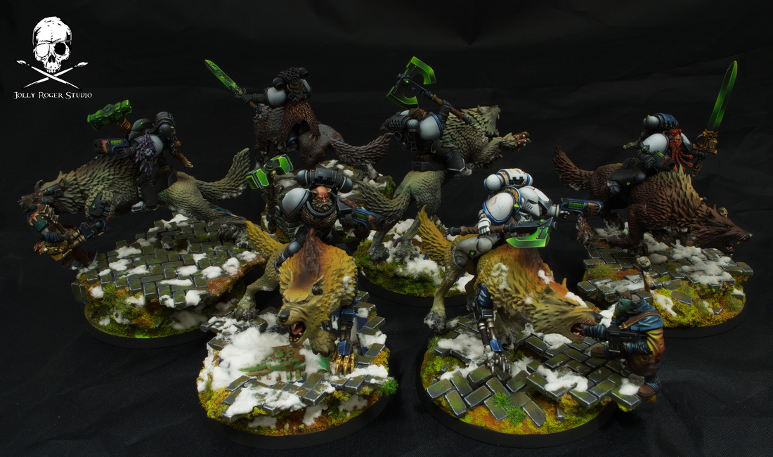 Space Wolves Wolf Cavalry