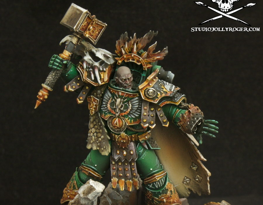 Laurent's Vulkan Primarch of the Salamanders