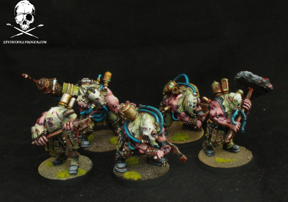 William's Nurgle Renegade Militia Reinforcements