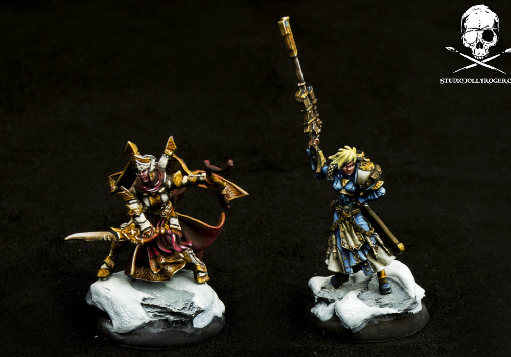 David's Snowy Warmachine Miniatures