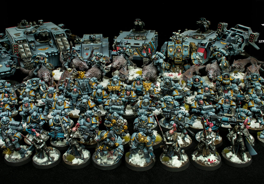 Nicholas' Classic Space Wolves – Video