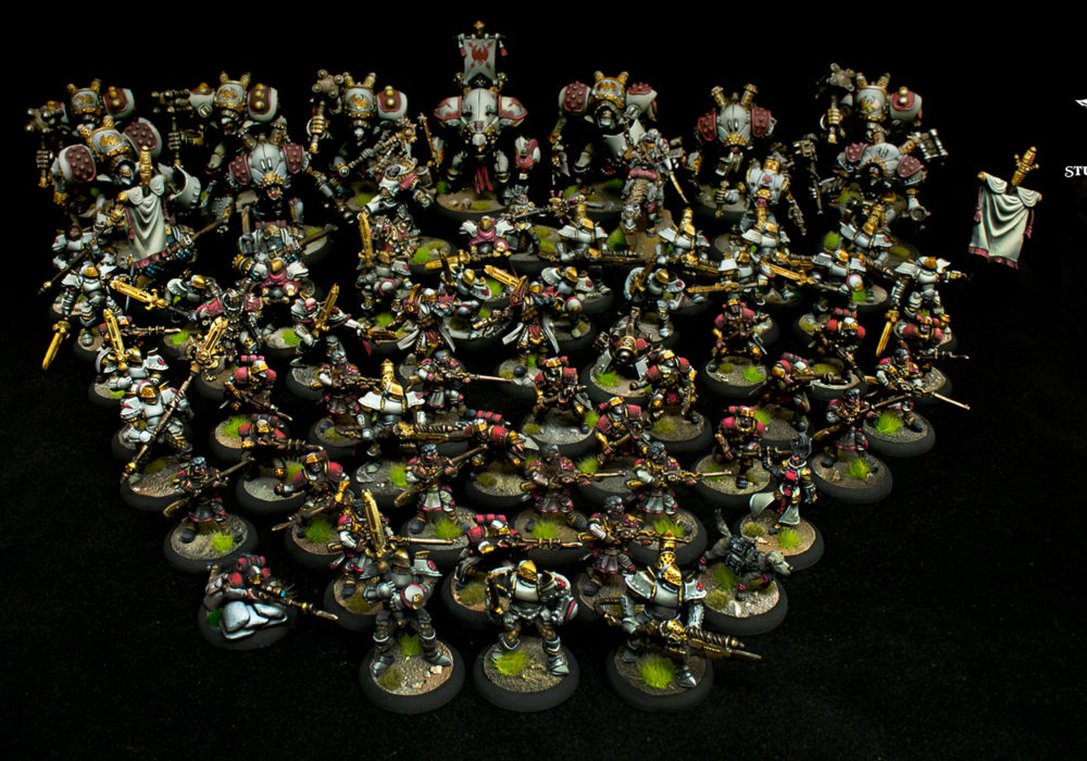Spencer's White Cygnar Army