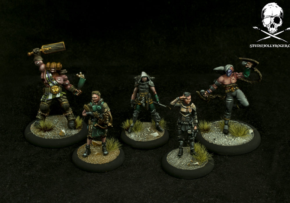 Bret's Warmachine and Guild Ball Promo Models