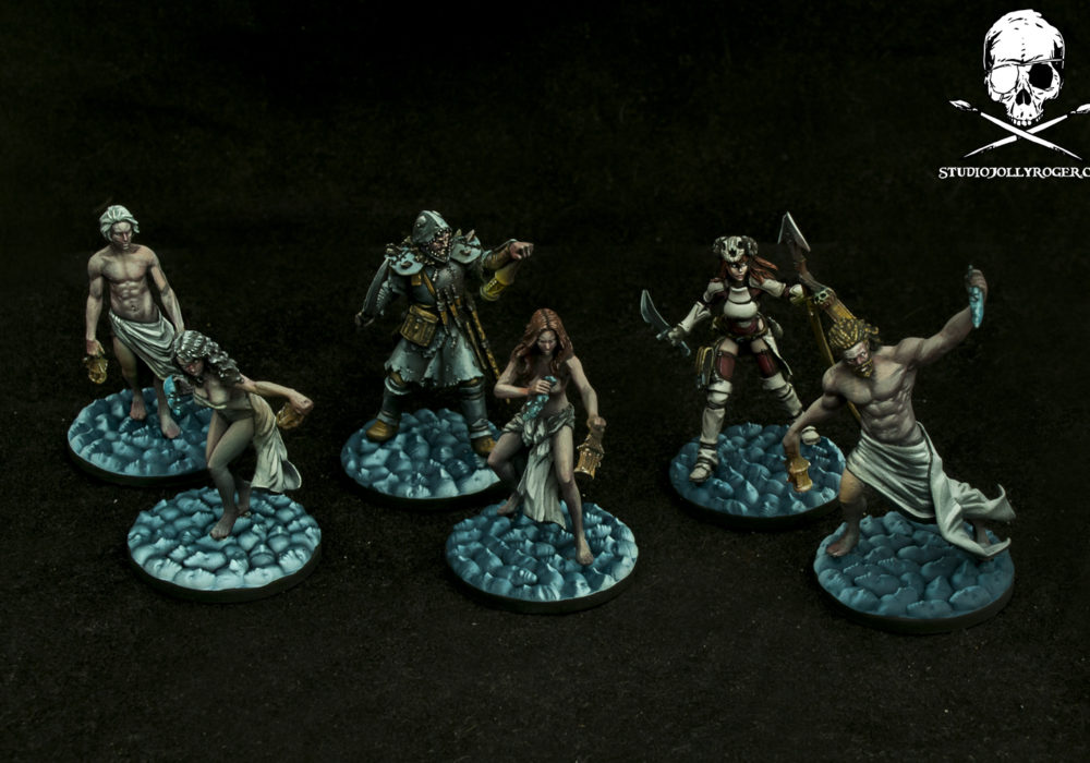 Marcus' Kingdom Death Survivors