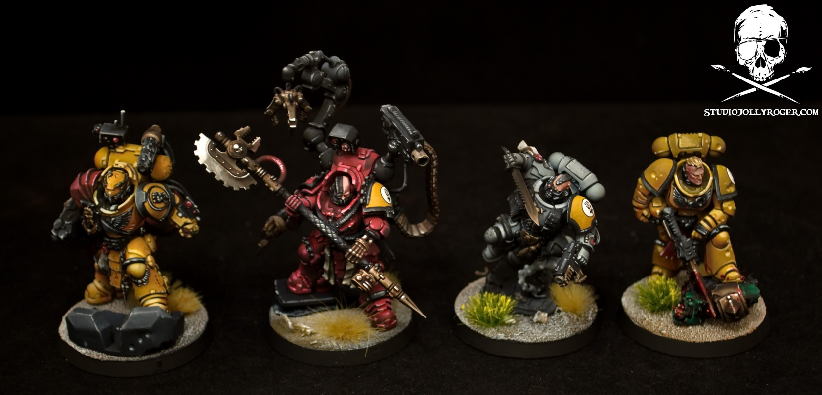 Imperial Fists Inceptor Squad
